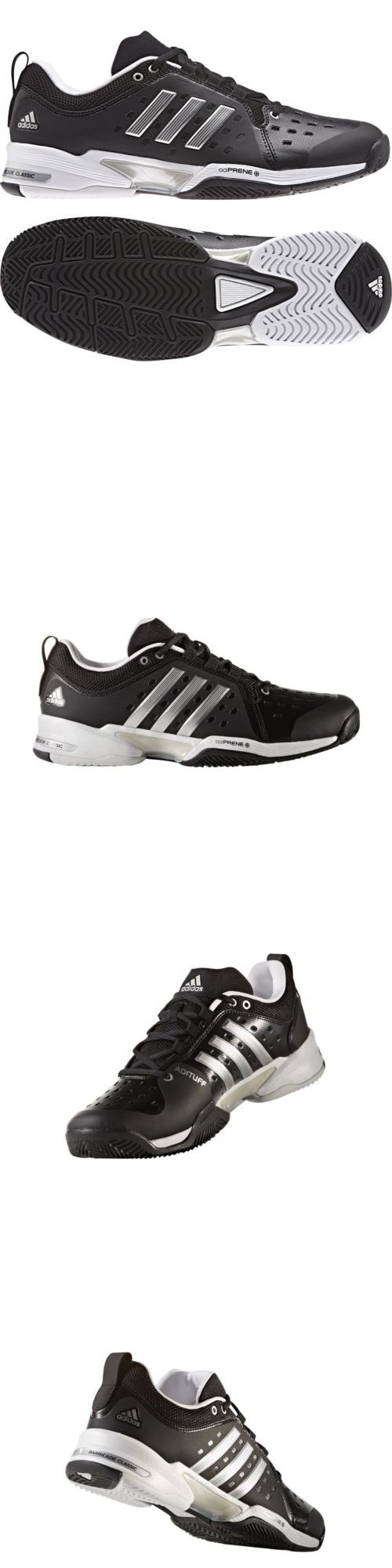 Shoes 62230: Adidas Barricade Bounce Wide 4E White Black Grey Cp8694 + Free Socks -> BUY IT NOW ONLY: $99.95 on eBay!