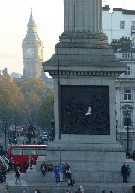 Trafalgar Square towards Whitehall