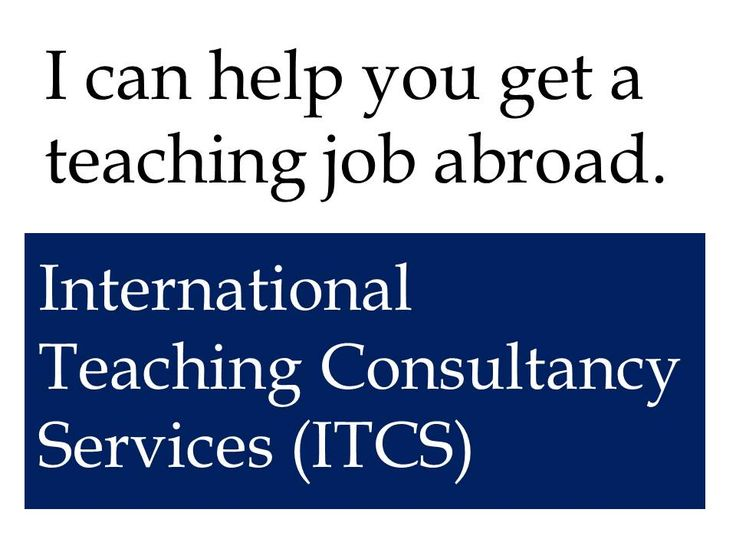 For US teachers, I can help you find a job outside US. For non-US teachers, I can help you get a teaching job in American schools (Teacher Exchange Program). Click here for details. http://misterdeeonline.blogspot.com/p/international-teaching-consultancy.html