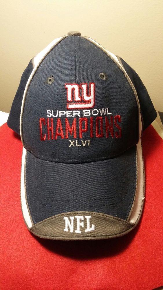 84f9cccb723ee7 NFL Super Bowl XLVI New York Giants Super Bowl champions Cap Hat #Reebok  #NewEnglandPatriots