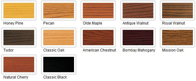 Minwax Polyshades Color Chart For The Home Pinterest