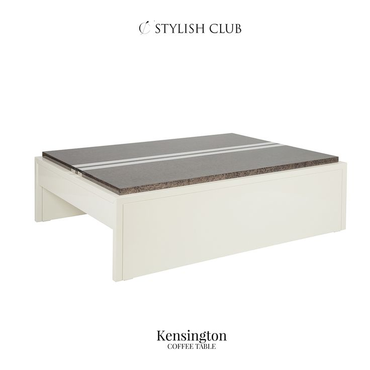 Complementary to the Kensington Collection, the Kensington coffee table is practical, elegant, and with great detailing.