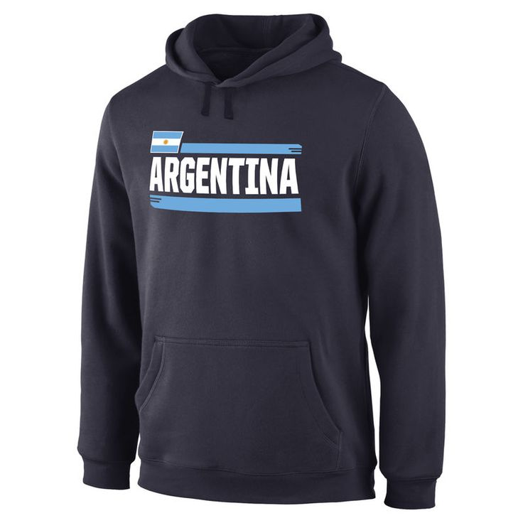 Argentina Fanatics Branded Devoted Pullover Hoodie - Navy