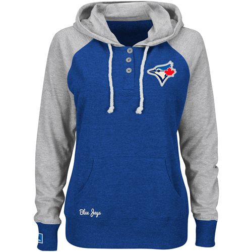 Toronto Blue Jays Women's Strong Desire Pullover Hoody by Majestic Athletic
