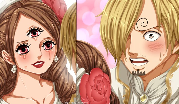 Colored 352 by Enara123, Chalotte Pudding, Sanji, One Piece