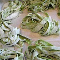 Recipe photo: Homemade Spinach Pasta