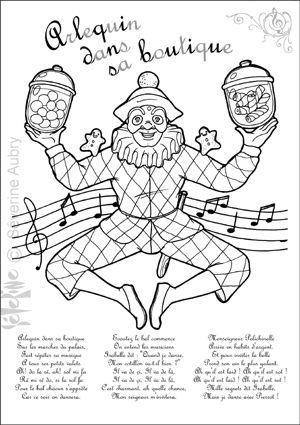 Comme promis, voici un cahier de coloriages pour chanter à tue tête pendant toutes la vacances; pour occuper pendant les trajets, ou pour s'amuser entre adultes ;0) Des comptines traditionnelles ! C'est pour Hugo l'escargot, of course; et toujours téléchargeable...