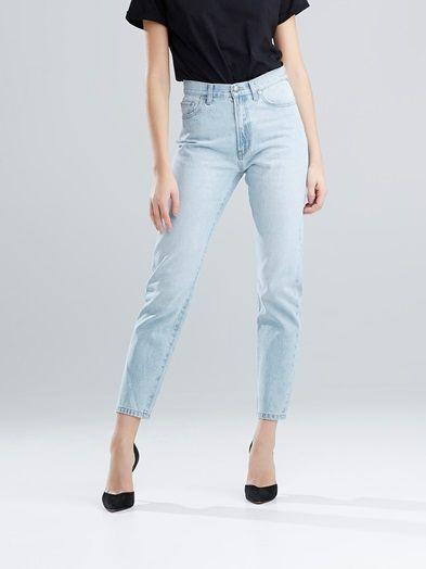 Lucy Light jeans | | Blå | BikBok | Sverige