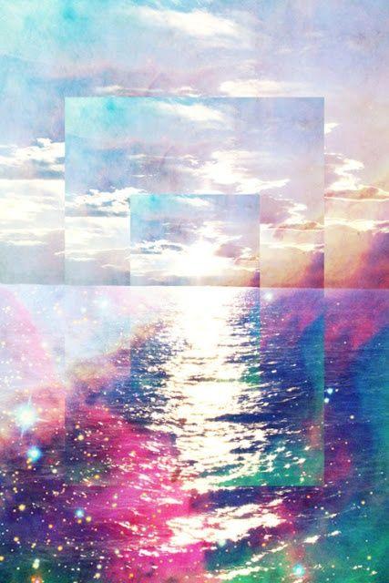 IPhone Wallpaper See More Acid Sunrise Destinationsummer Holographic