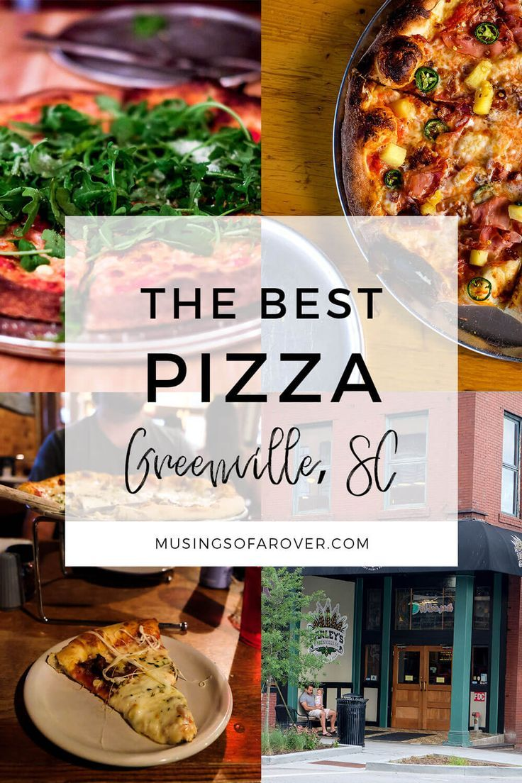Looking for the Best Pizza in Greenville, SC? Head to Sidewall Pizza, Barley's Pizza, Vic's Pizza, & Stone Pizza Company. via @musingsofarover