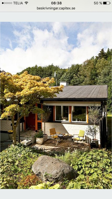 Välkommen! Fast huset verkar litet är det 188 kvadratmeter med 120 kvadratmeter biyta!