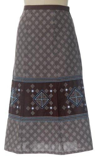 Shweshwe wrap skirt