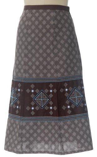 Shweshwe wrap skirt-        So beautiful and easy to wear. Understated elegance.