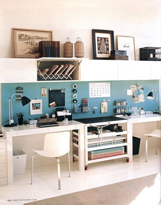 blue home office. home office organisation ideas google search blue f