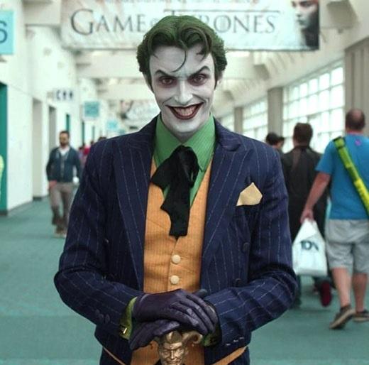 The Joker from Batman #batman #cosplay #dccomics