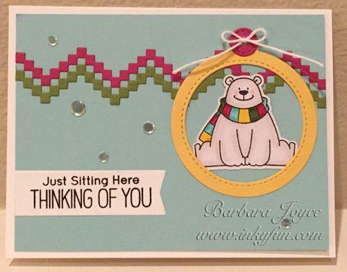 CC669 DT Sample- Barbara's card