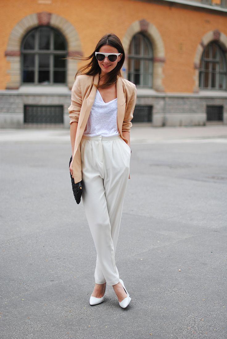 Fashionvibe White High Waisted Jeans