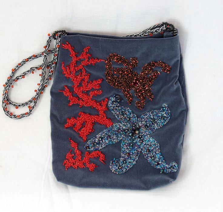Sea shore purse