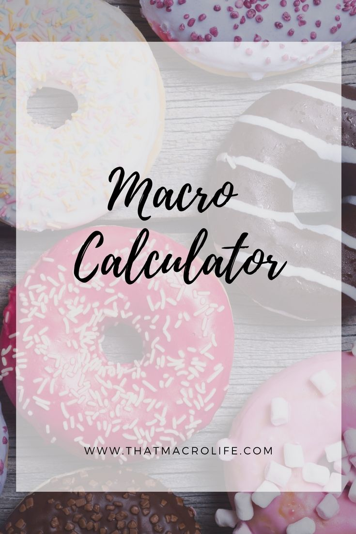 Calculate your macros with this online macro calculator. Flexible Dieting, iifym and counting macros www.thatmacrolife.com