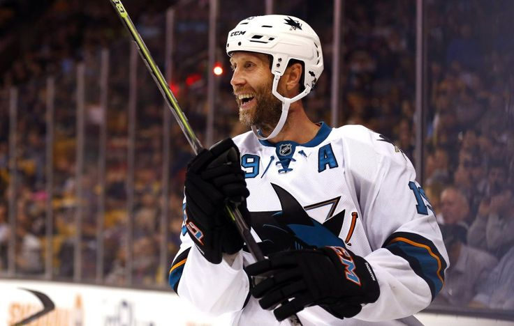 Top 5 Trade Destinations for Joe Thornton - http://thehockeywriters.com/top-5-trade-destinations-for-joe-thornton/