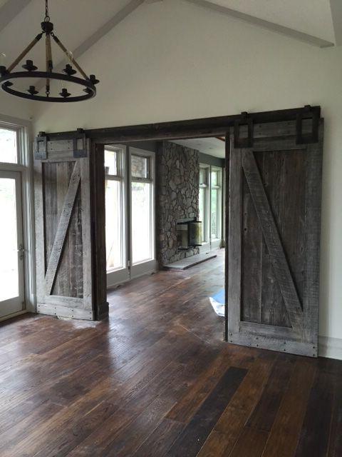 28 Best Images About Barnwood Doors On Pinterest Sliding