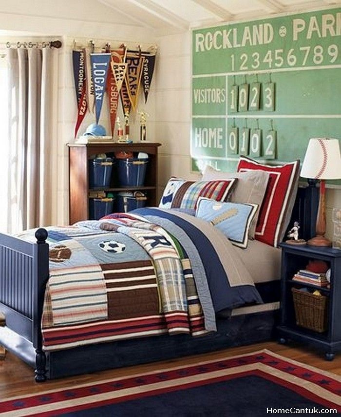 60 Boys Baseball Themed Bedroom Ideas 43