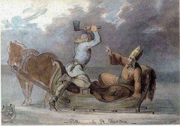 Kuvahaun tulos haulle lalli ja piispa henrik