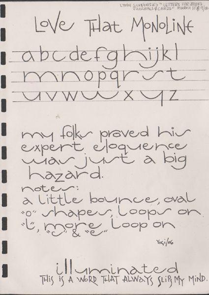 Hand Lettering Journaling | Hand lettering