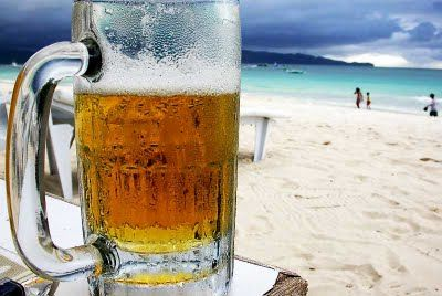 exactly what i need right now...laying on the beach with an ice cold beer!