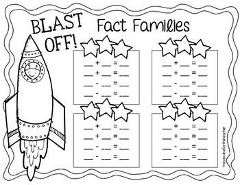 1000+ images about Fact Families on Pinterest