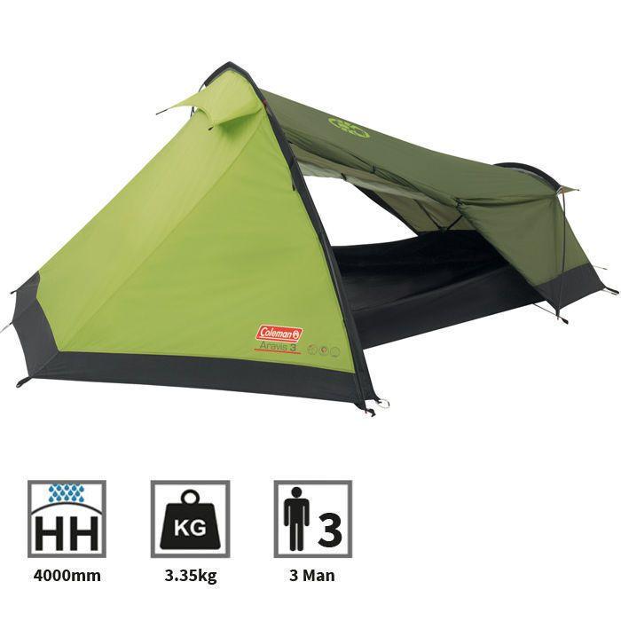 Coleman Aravis 300 Compact Lightweight 3 Man Person C&ing Tent Ideal D of E  sc 1 st  Pinterest & 52 best Camping Tents images on Pinterest | Tent Tents and Camper