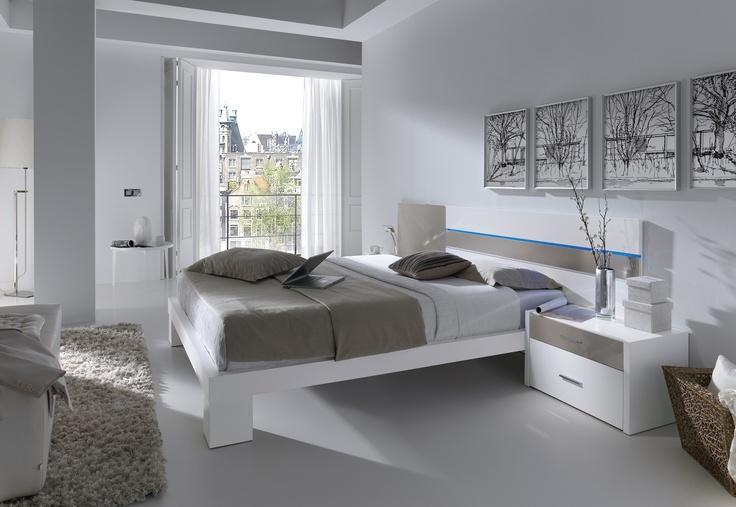Dormitorio de matrimonio, modelo Tiara