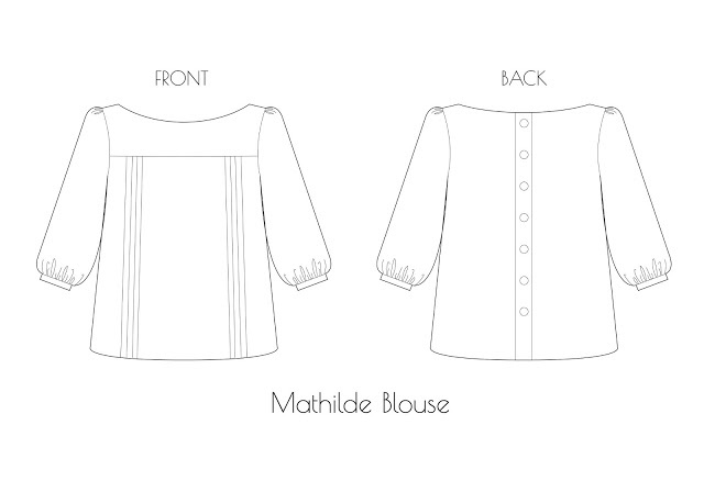 Tilly and the Buttons: MATHILDE BLOUSE