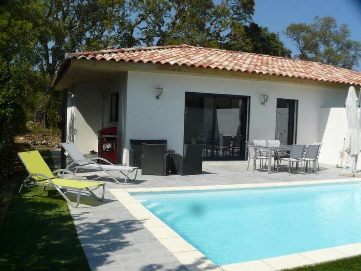 Außenaufnahme Villa Mit Beheiztem Pool Nahe Saint Cyprien Beach