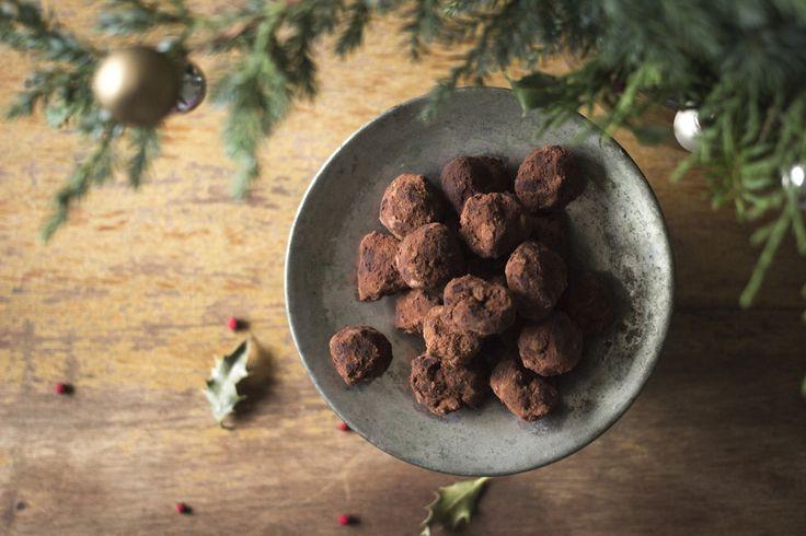 Čokoládovo-kuskusové kuličky