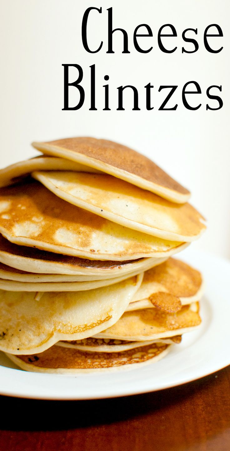 Like pancakes, but much softer and made with cheese!
