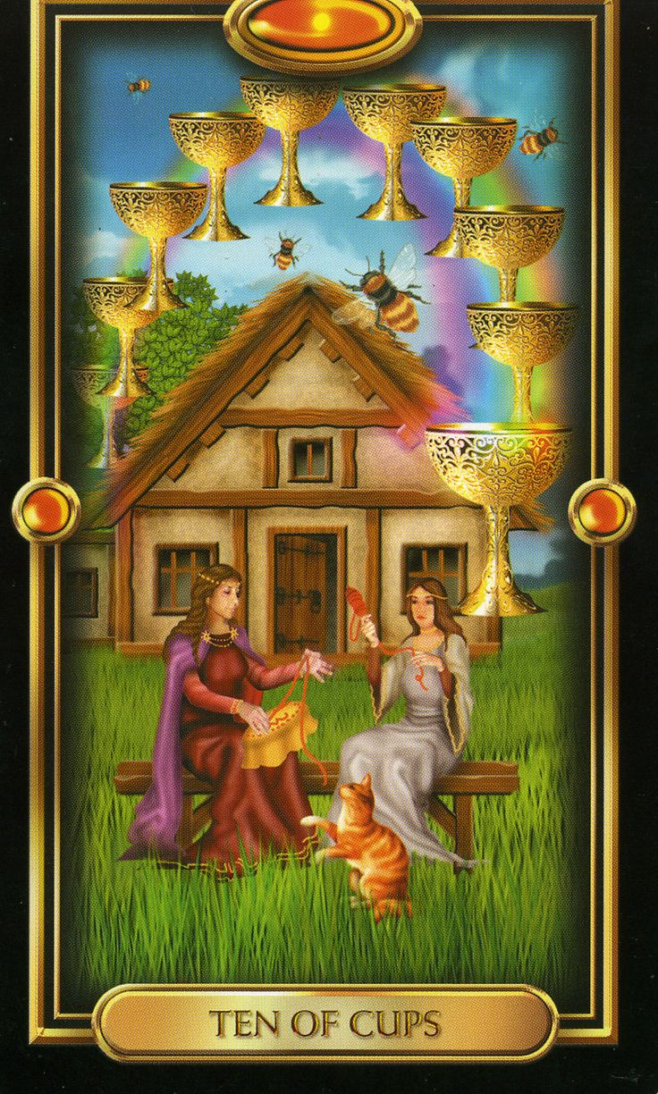 86 Best Images About Gilded Tarot On Pinterest