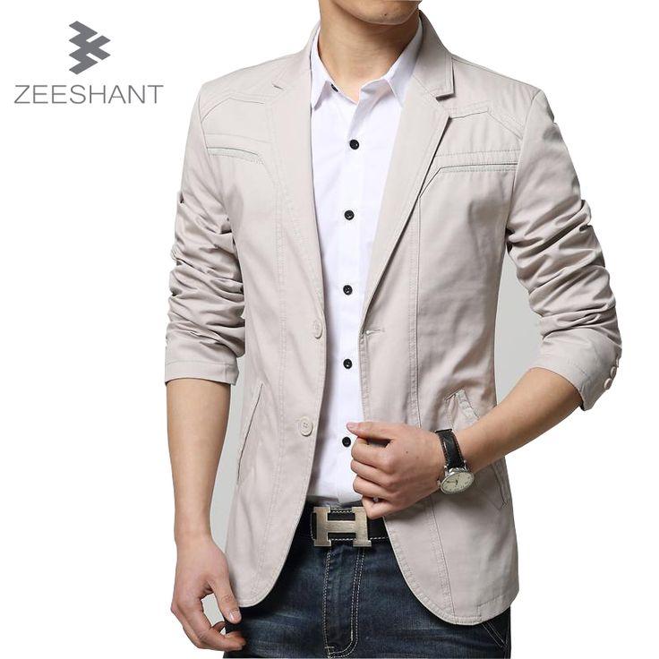 New Autumn Mens Black Blazer Men Casual Suit Jacket Splice Men Slim Fit Suits Two Buttons Plus Size 6XL Bleiser Masculino