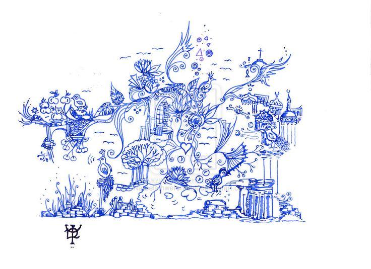 Birds by Narbelethwererabbit.deviantart.com