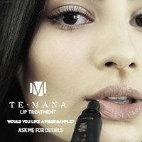 Be one of the first people to sample the new TeMana Lip treatment