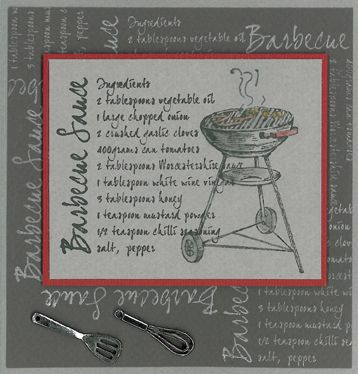 Stamp-it Australia: 4268E BBQ, 4316E Barbeque Sauce - Card by Susan