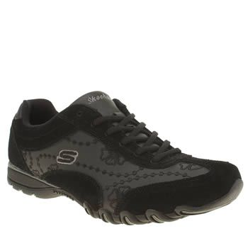 Skechers Black Speedsters Womens Trainers Skechers add to their collection of Memory Foam styles with the Speedsters. Arriving in black leather, the understated style features man-made overlays, with floral detailing and stitch branding. A pa http://www.MightGet.com/january-2017-13/skechers-black-speedsters-womens-trainers.asp
