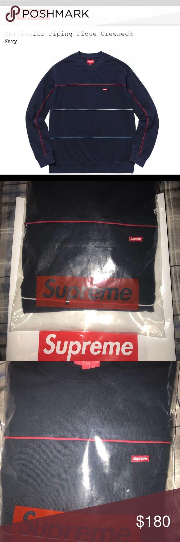 Supreme Sweater Size L NEW SUPREME SWEATER Supreme Sweaters Crew & Scoop Necks