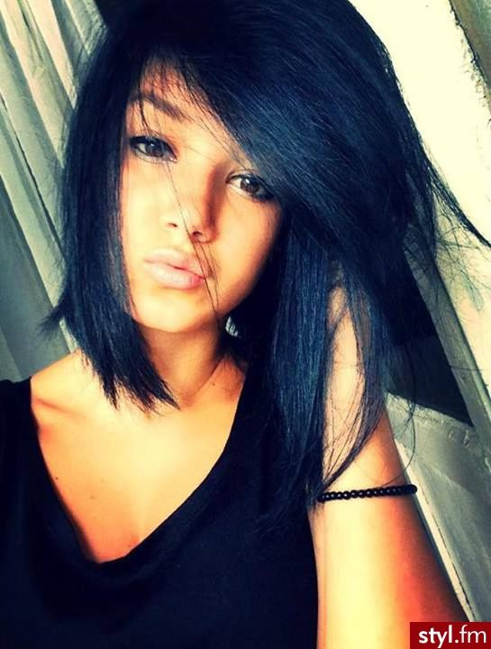 Awesome 1000 Ideas About Blue Black Hair Color On Pinterest Black Hair Short Hairstyles Gunalazisus