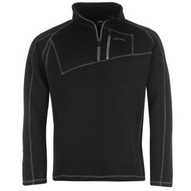 Slazenger Fleece Quarter Zip Golf Top Mens  4745
