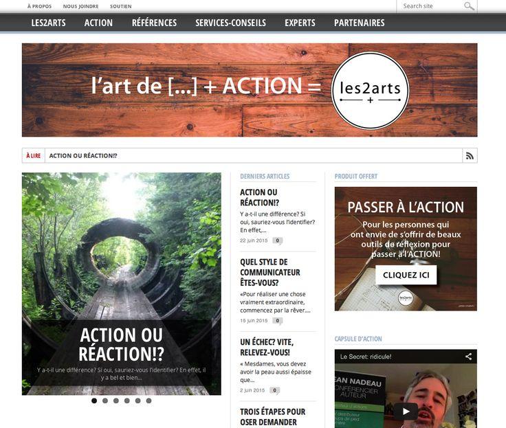 CAPSULES VIDÉOS ::: Aujourd'hui, les2arts prend son envol en devenant la plateforme web qui saura propulser vos ACTIONS quels que soient votre secteur d'activité, vos idées ou vos passions.