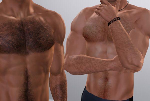 Mod The Sims Custom Body Hair Overlay Body Hair Hair Body