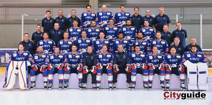 """Das sind die """"Adler Mannheim"""" für die neue DEL Saison 2015/2016"""