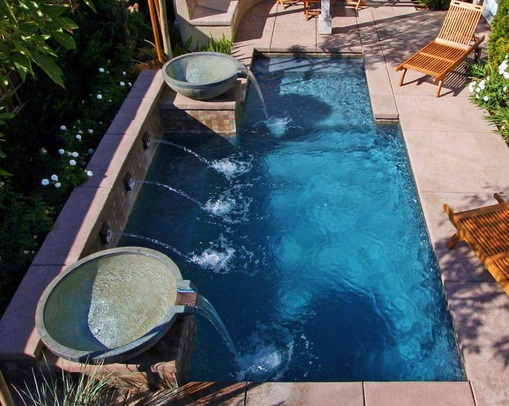 25 Best Ideas About Small Yard Pools On Pinterest Small