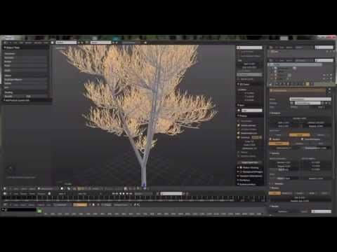 Creating 3d trees for architecture with the sapling Add-on • Blender 3D ArchitectBlender 3D Architect